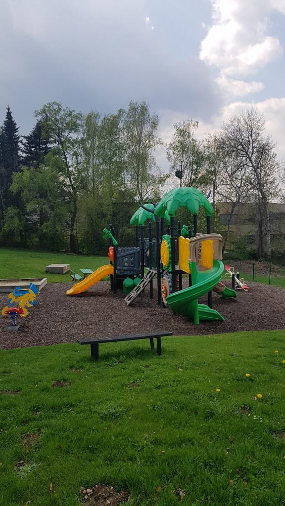 Ideal für den Familienausflug: Kinder-Spielplatz