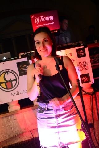 Eine großartige Sängerin: Marilena Daborer